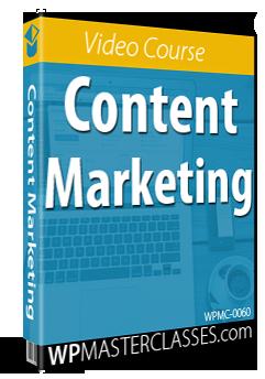 Content Marketing - WPMasterclasses.com